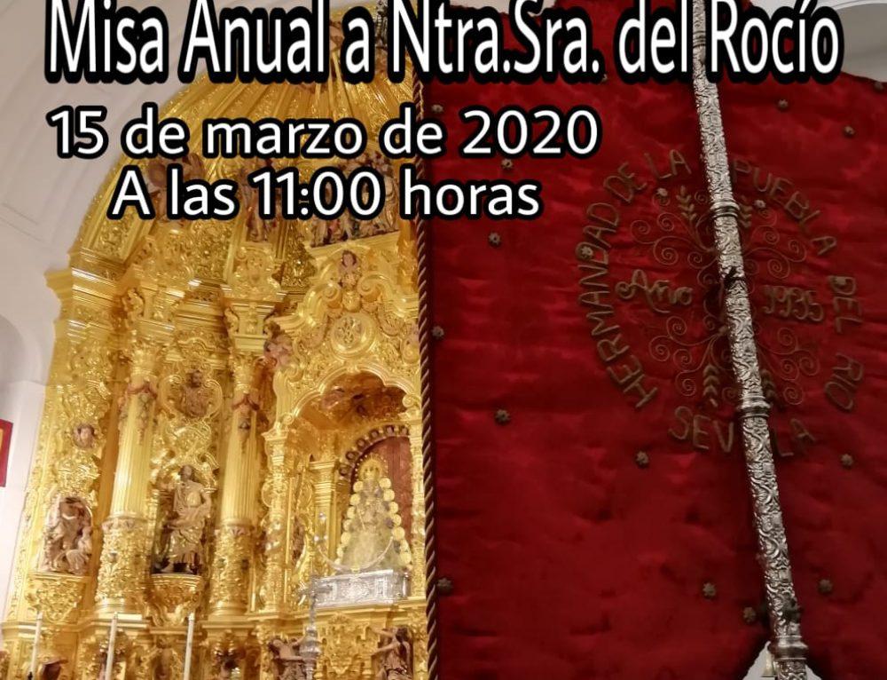 MISA ANUAL A NTRA. SRA. DEL ROCIO